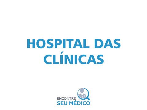 HOSPITAL DAS CLÍNICAS E PRONTO SOCORRO DE FRATURAS